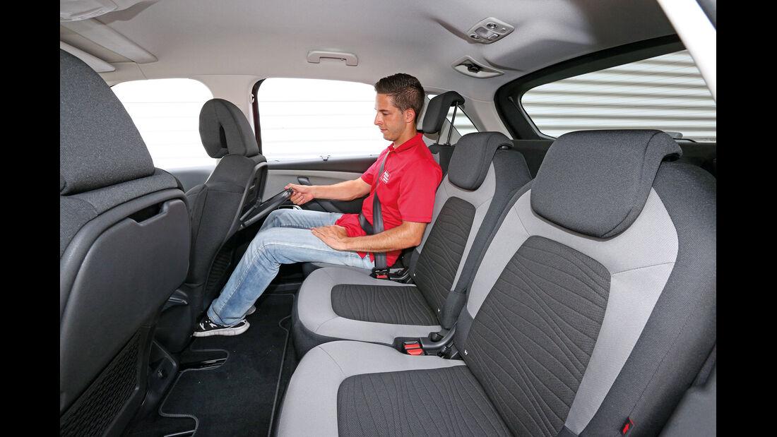 Citroën C4 Picasso E-HDi 115, Fondsitz, Beinfreiheit