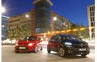 Citroën C4 Picasso E-HDi 115, Ford C-Max 1.6 TDCi, Frontansicht