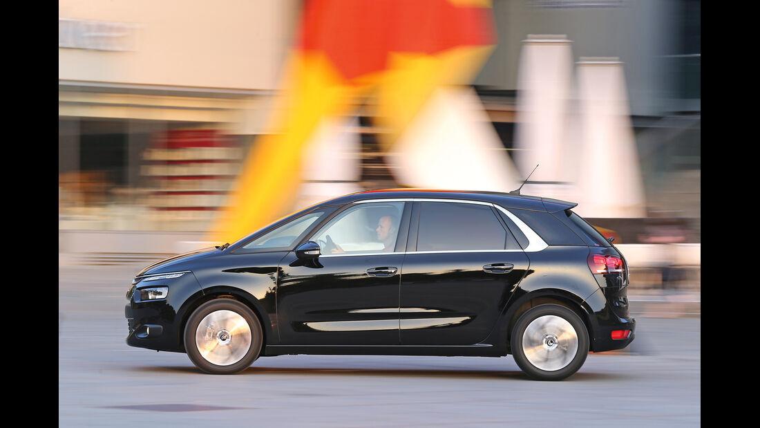 Citroën C4 Picasso E-HDi 115, Seitenansicht