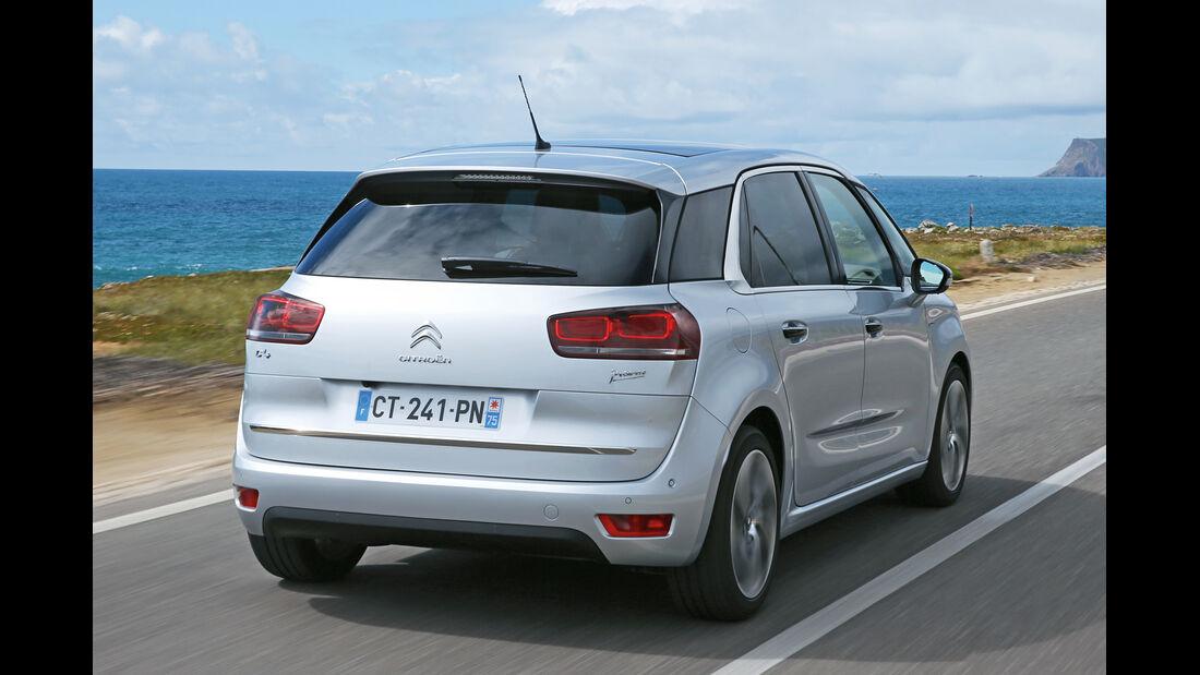 Citroën C4 Picasso, Heckansicht