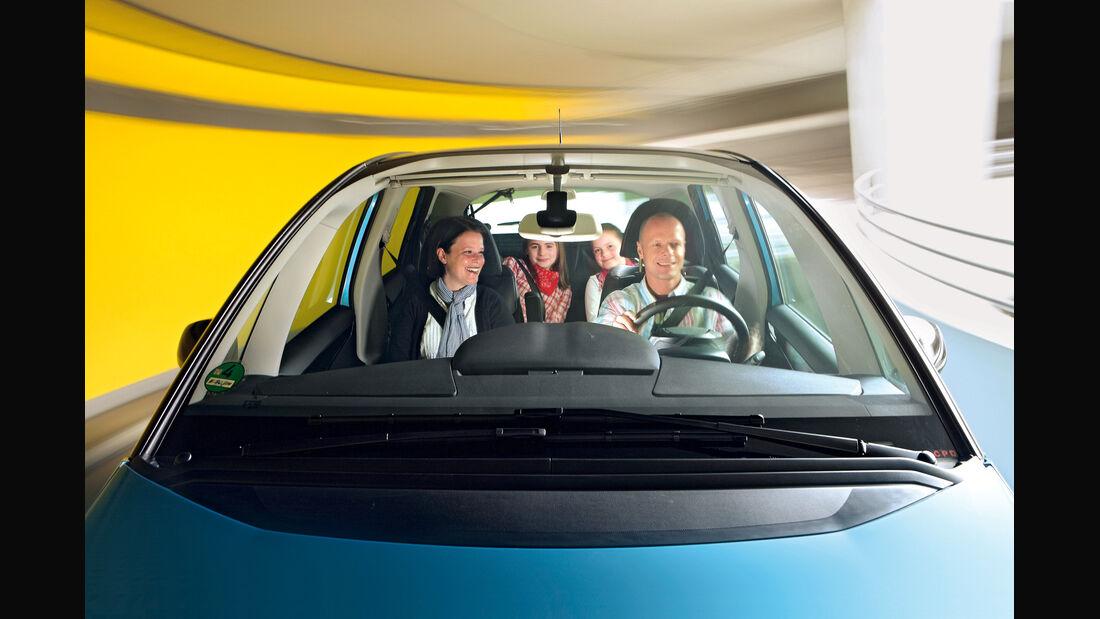 Citroën C4 Picasso, Insassen