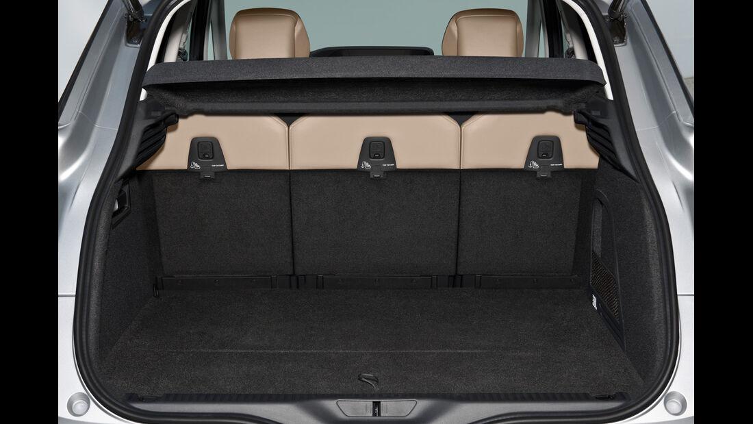 Citroën C4 Picasso, Kofferraum, Ladefläche