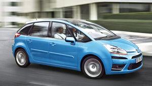 Citroën C4 Picasso, Seitenansicht