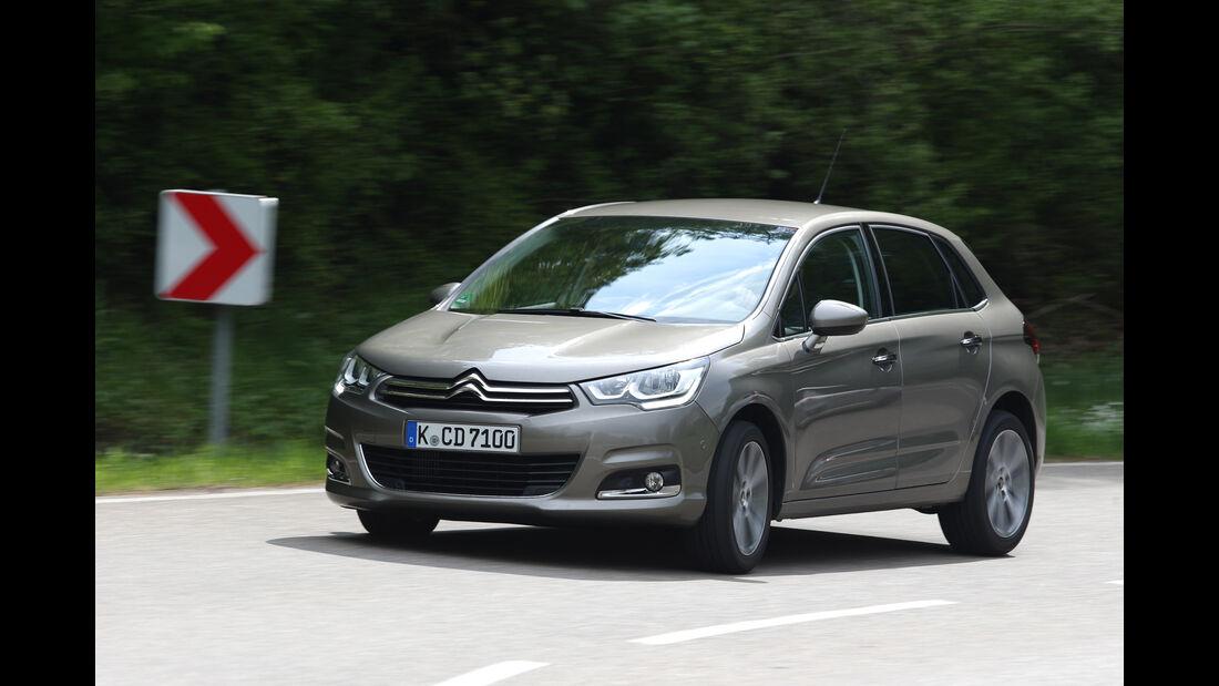 Citroën C4 Puretech 130, Frontansicht