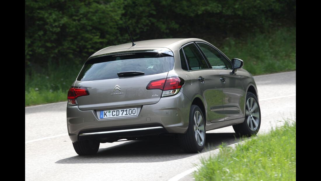 Citroën C4 Puretech 130, Heckansicht