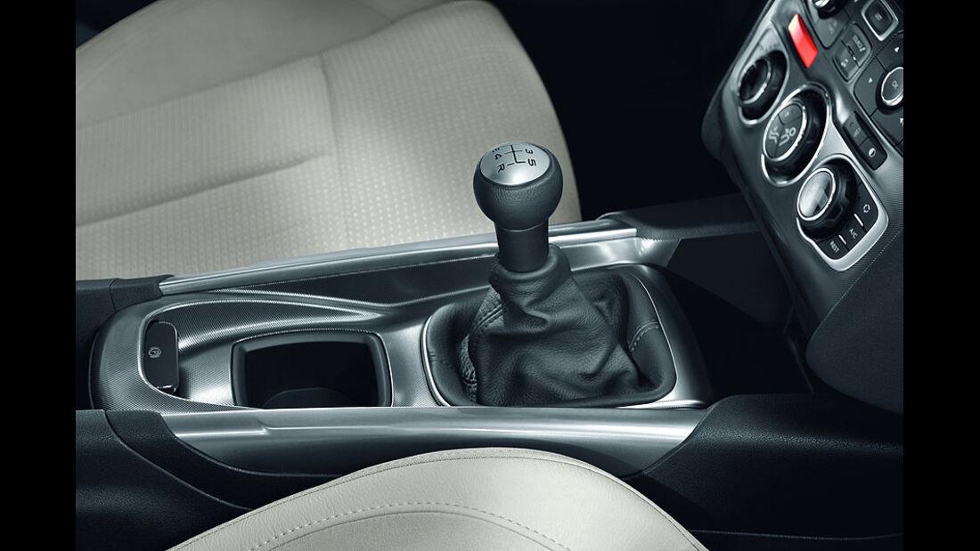 Citroën C4, Schaltknauf