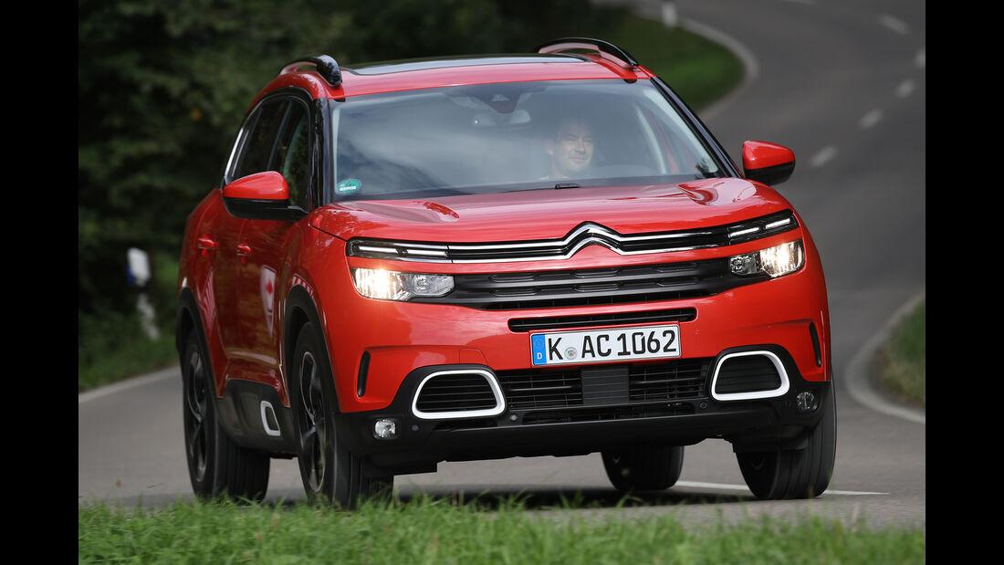 Citroën C5 Aircross Puretech, Exterieur