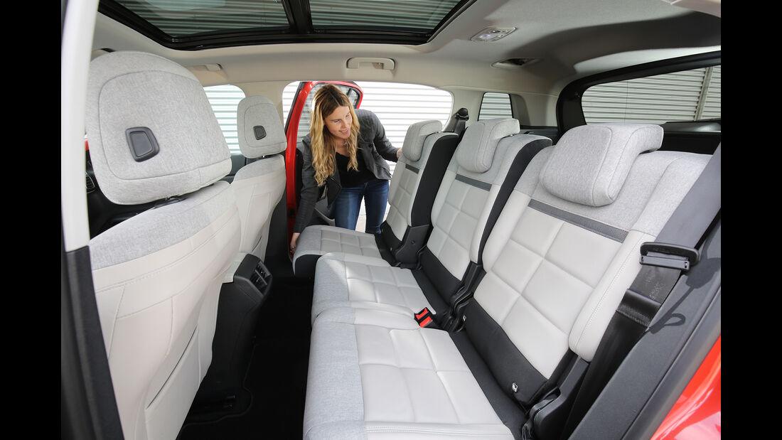 Citroën C5 Aircross Puretech, Interieur