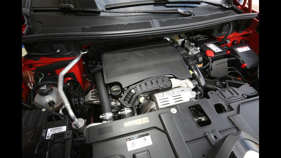 Citroën C5 Aircross Puretech, Motorraum