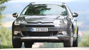 Citroën C5 Crosstourer HDi 165, Frontansicht