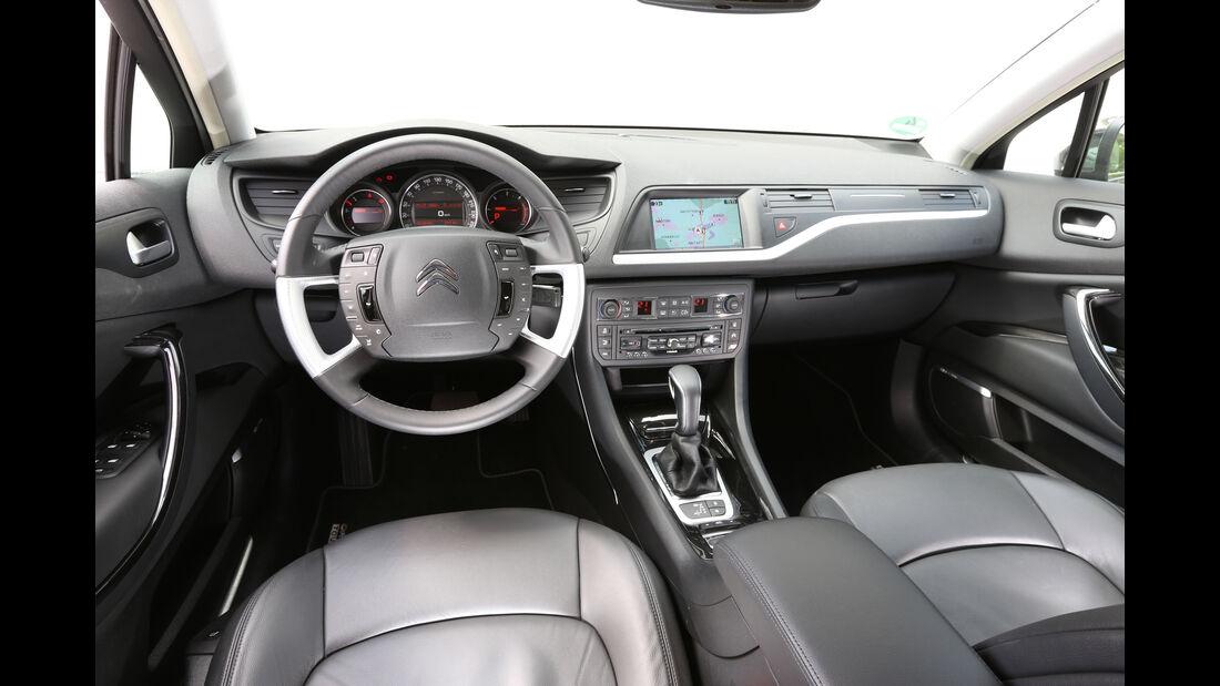 Citroën C5 Tourer, Cockpit