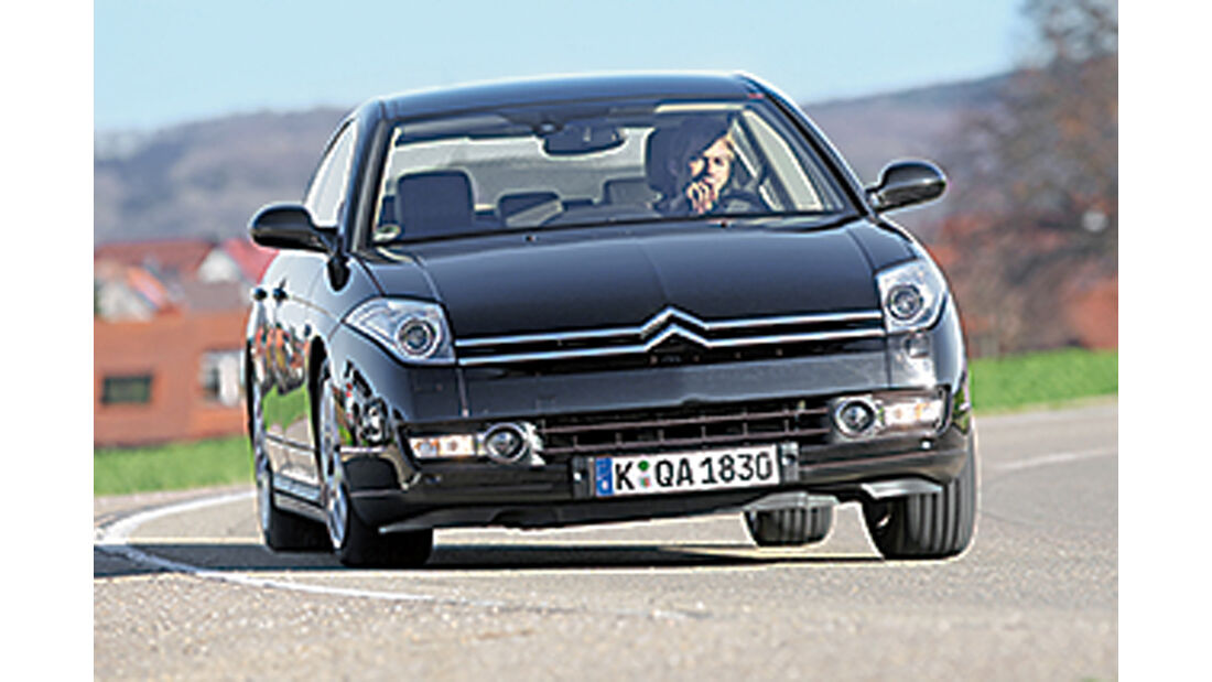 Citroën C6 2.2 HDI, Frontansicht