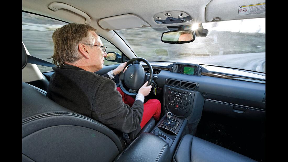 Citroën C6, Cockpit
