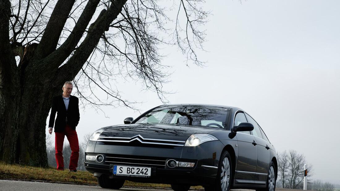 Citroën C6, Frontansicht