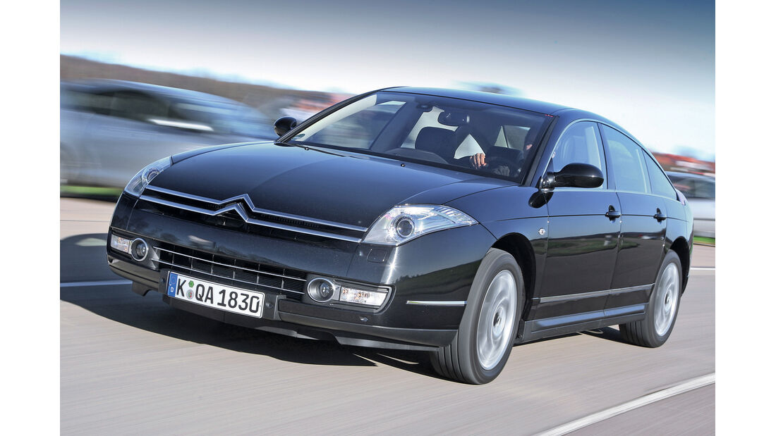 Citroën C6 HD i 170 Biturbo, Frontansicht
