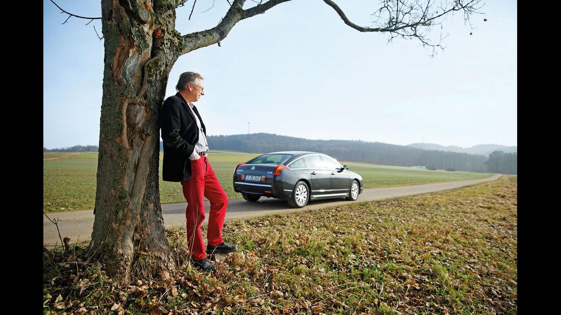 Citroën C6, Seitenansicht