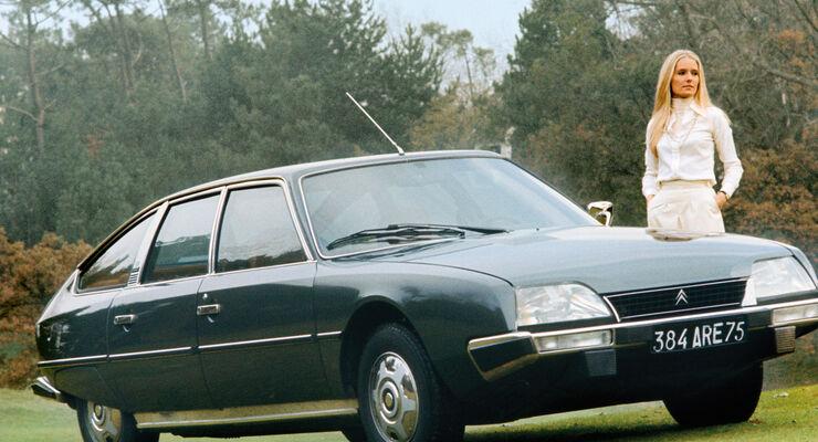 Citroën CX 2400, Seitenanicht