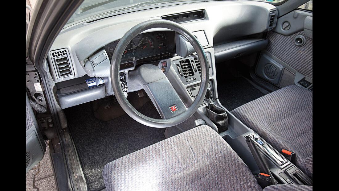 Citroën CX 25 TRD Turbo 2 Break, Cockpit, Lenkrad