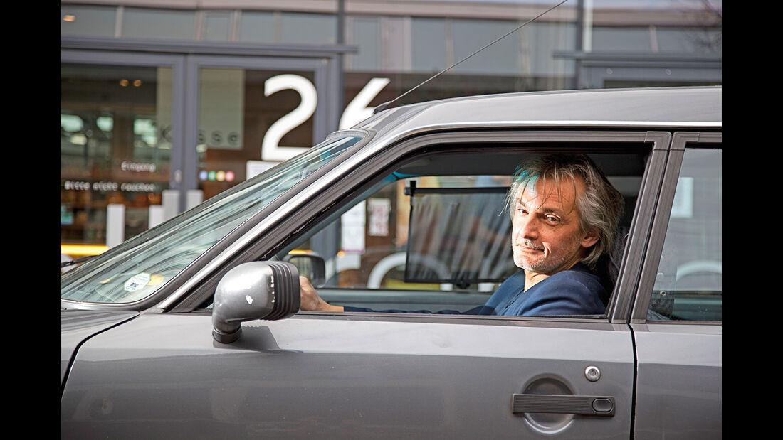 Citroën CX 25 TRD Turbo 2 Break, Seitenfenster, Marc Hug