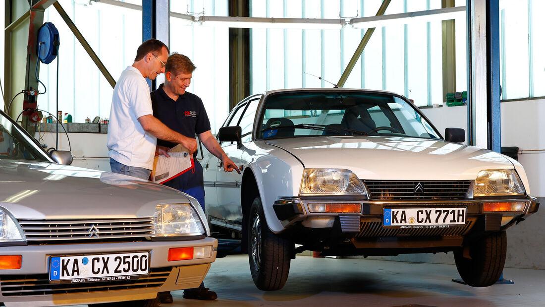 Citroën CX Benziner, Hebebühne