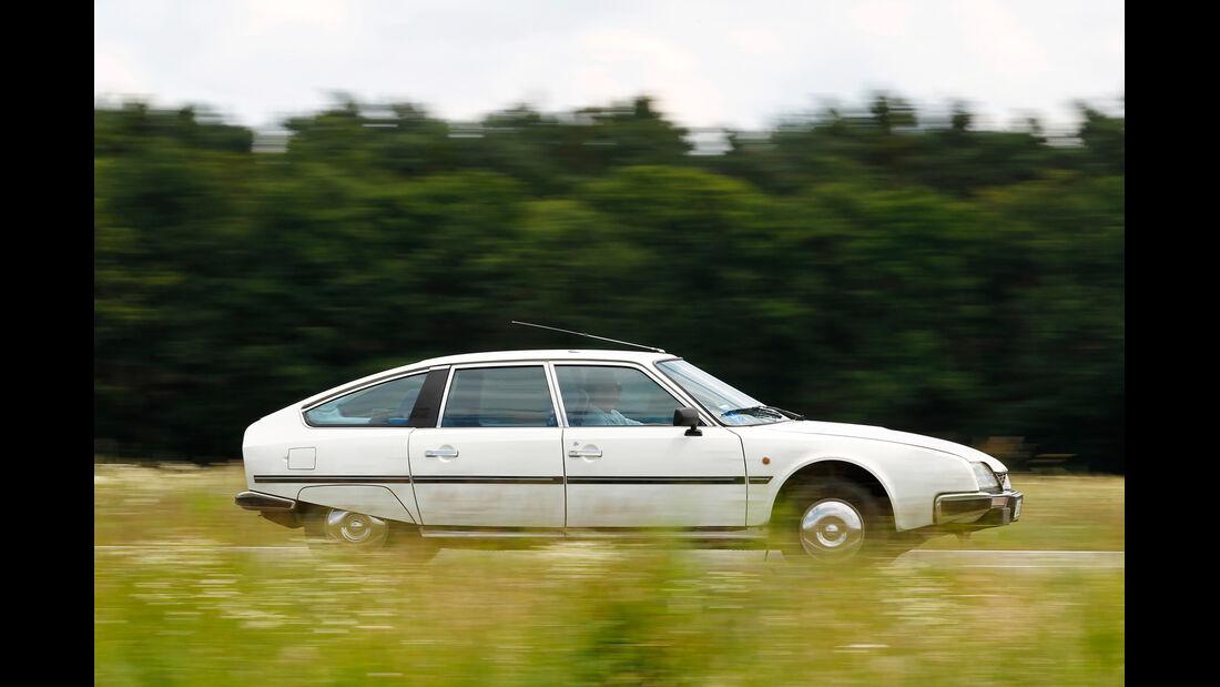 Citroën CX Benziner, Seitenansicht