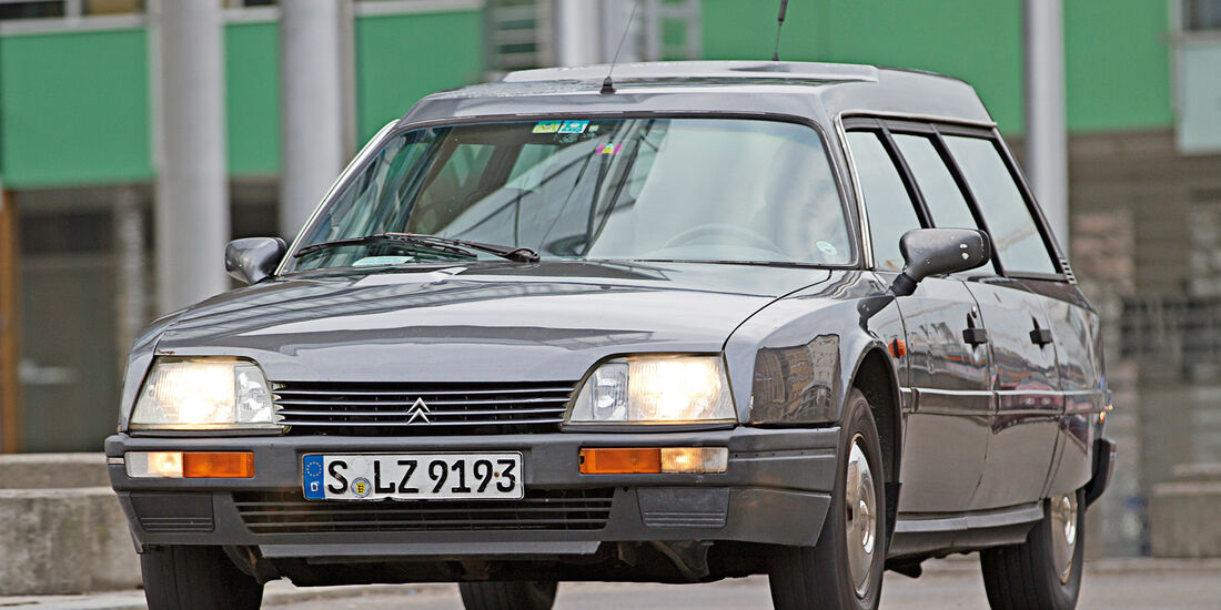 Citroën CX Break/Familiale, Frontansicht