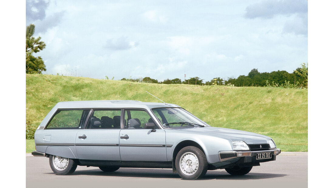 Citroën CX Break/Familiale, Seitenansicht