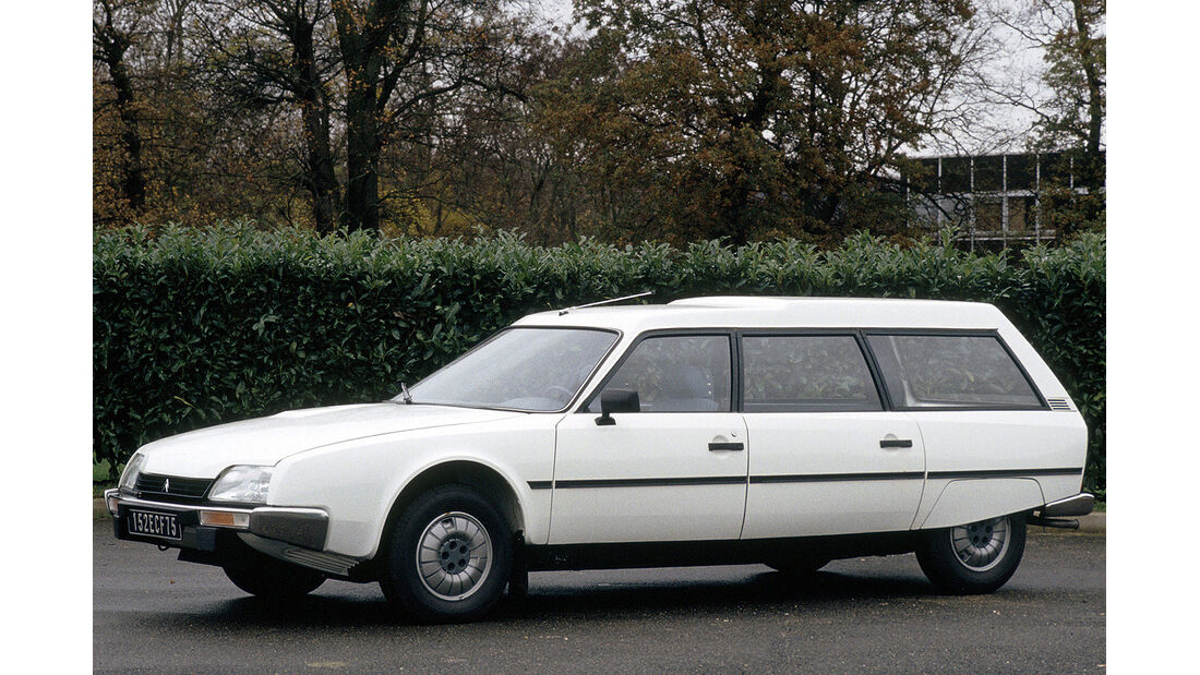 Citroën CX Break, Heckansicht