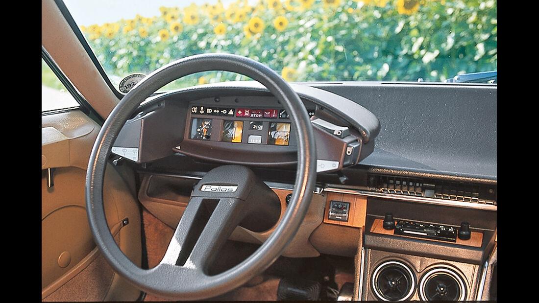 Citroën CX, Cockpit