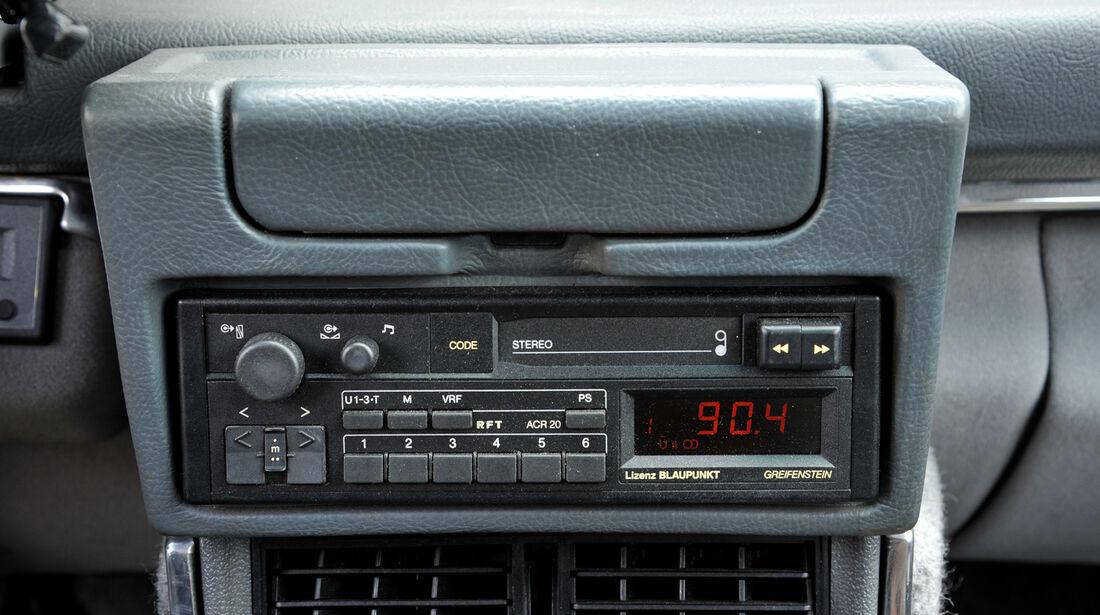 Citroën CX Prestige, Mittelkonsole