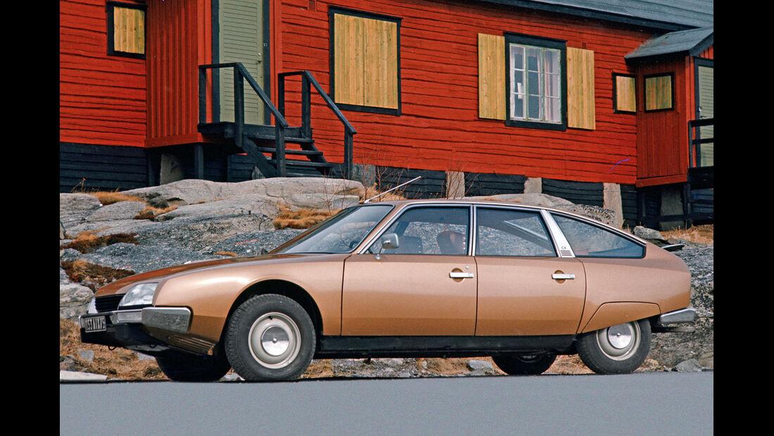 Citroën CX, Seitenansicht