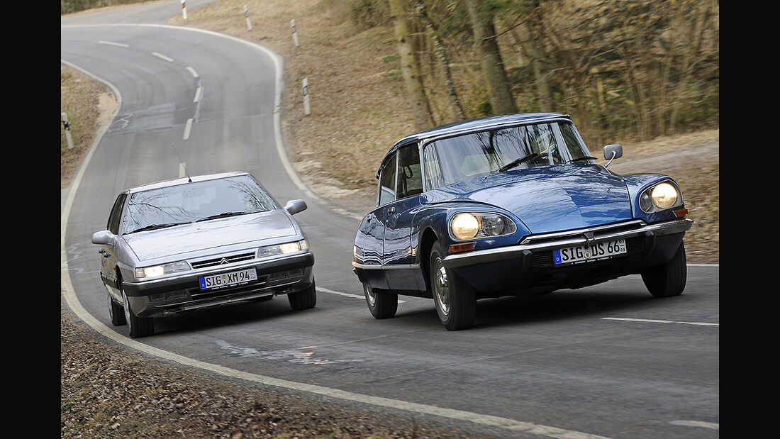 Citroën DS 23 Pallas Injection und Citroën XM 2.0 Turbo C.T.