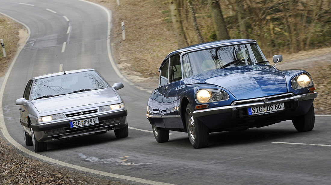 Citroën DS 23 Pallas Injection und Citroën XM 2.0 Turbo C.T.