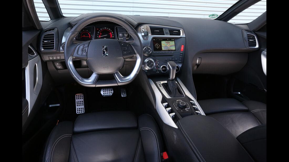Citroën DS 5 Blue HDi, Cockpit, Lenkrad