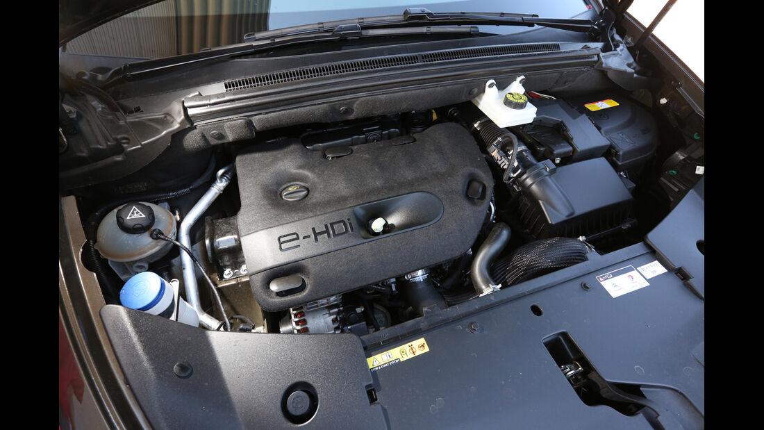 Citroën DS 5 Blue HDi, Motor