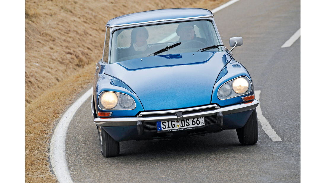 Citroën DS, Frontansicht