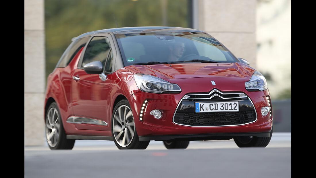 Citroën DS3 BlueHDi 120, Frontansicht