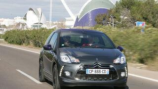 Citroën DS3 Cabrio, Frontansicht