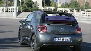 Citroën DS3 Cabrio, Heckansicht