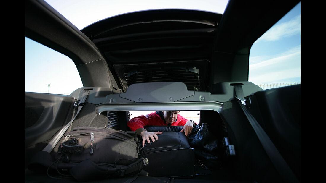 Citroën DS3 Cabrio, Kofferraum, Heckklappe