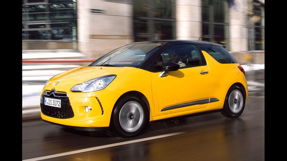 Citroën DS3, Frontansicht