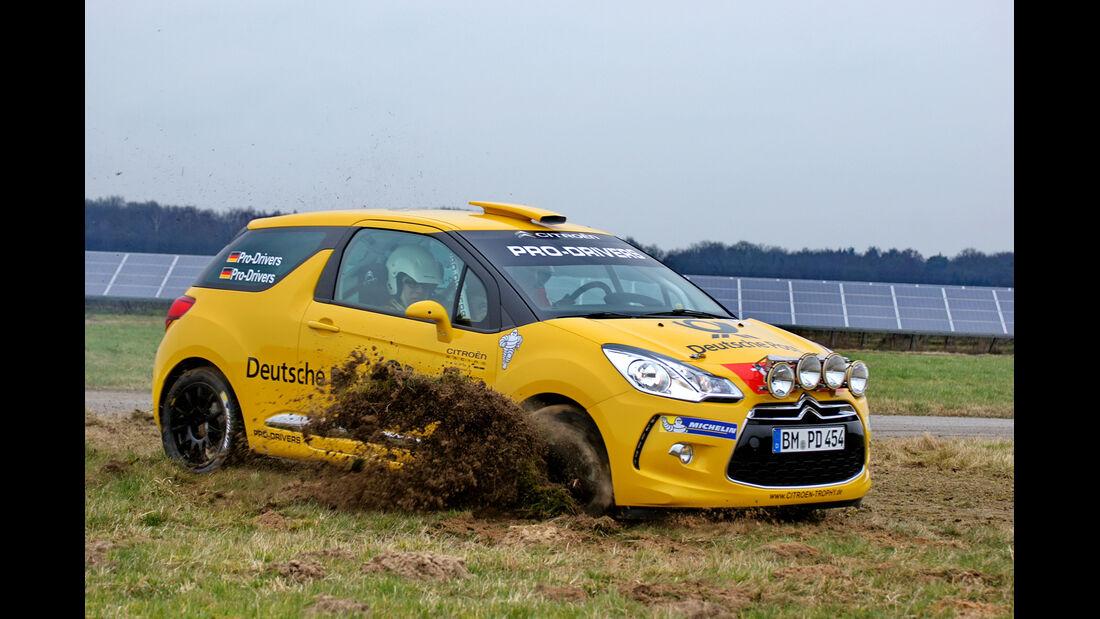 Citroën DS3 R1, Citroën DS3 R3, Impression
