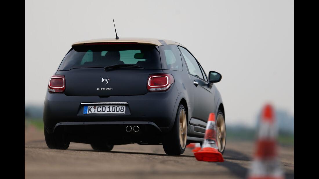 Citroën DS3 Racing Edition 2013, Heckansicht, Slalom