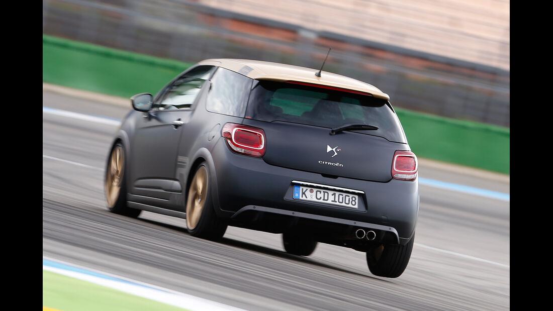 Citroën DS3 Racing,  Heckansicht