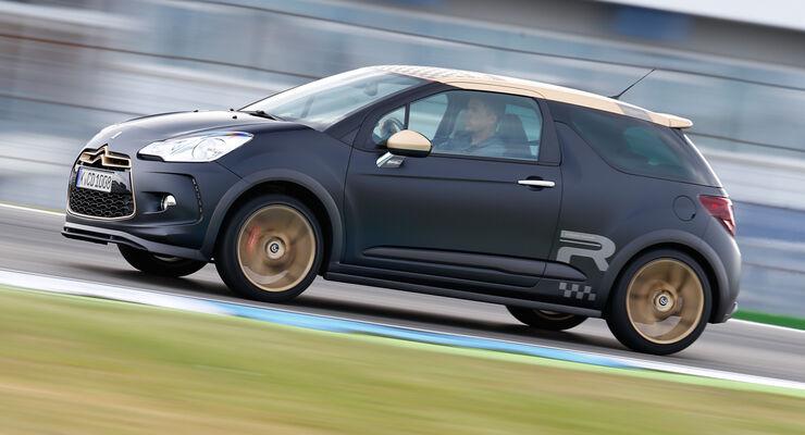 Citroën DS3 Racing,  Seitenansicht