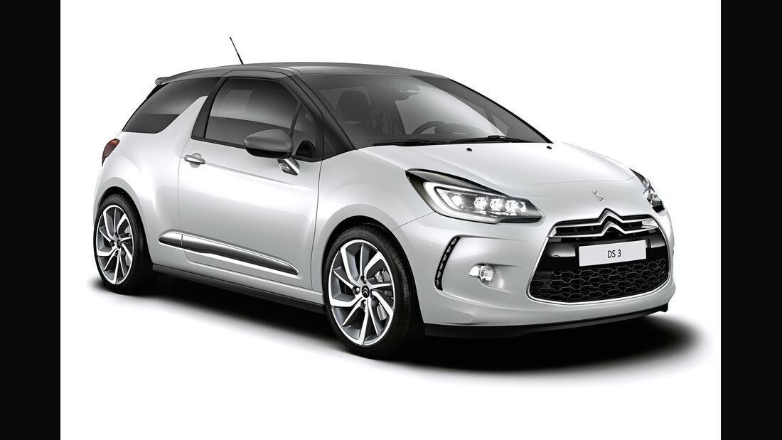 Citroën DS3, Seitenansicht
