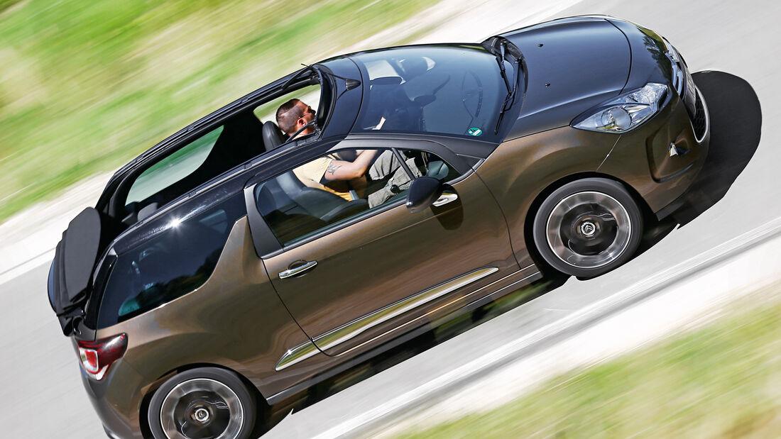 Citroën DS3 THP 155 Cabrio, Seitenansicht