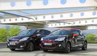 Citroën DS3 THP 155, Peugeot 208 XY 155 THP, Frontansicht