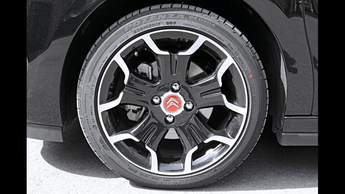 Citroën DS3 THP 155, Rad, Felge