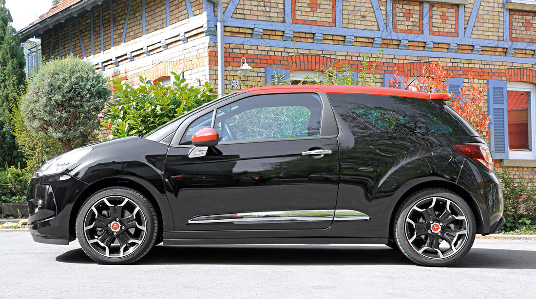 Citroën DS3 THP 155, Seitenansicht